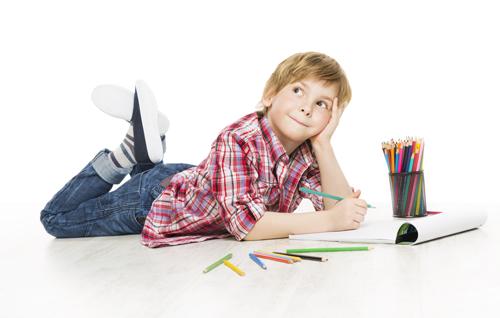 Schulbedarf21.ch - Schulkind das zeichnet
