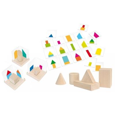 montessori 3-D-Lernspiel