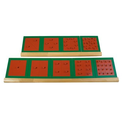 Montessori quadrate