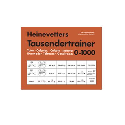Heinevetter-Trainer, Tausendertrainer
