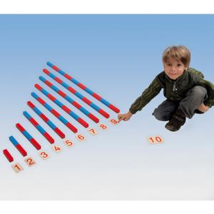 Montessori Numerische Stangen