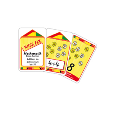Wissfix-Kartensatz 'Addition bis 10