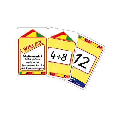 Wissfix-Kartensatz 'Addition bis 20