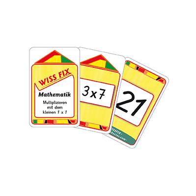 Wissfix-Kartensatz 'Kleines Einmaleins