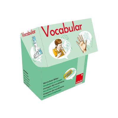 Vocabular Wortschatzbilder - Körper, Körperpflege, Gesundheit