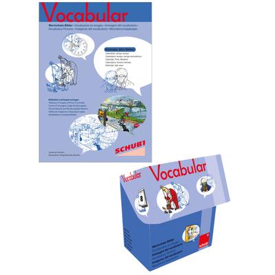 Vocabular Set - Kalender, Zeit, Wetter