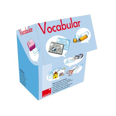 Vocabular Wortschatzbilder - Schule, Medien, Kommunikation