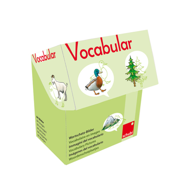 Vocabular Wortschatzbilder - Tiere, Pflanzen, Natur
