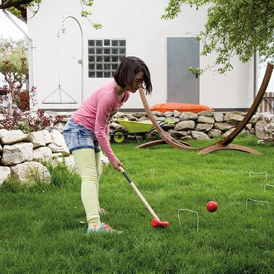 Croquet-Spiel