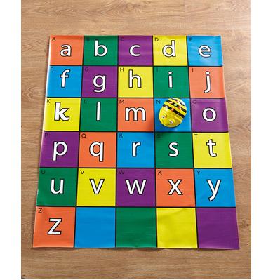 Matte mit Alphabet für Beebot