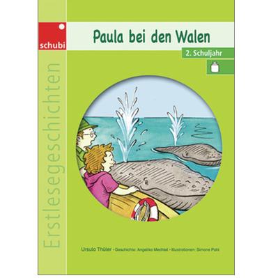 Paula bei den Walen Kopiervorlage